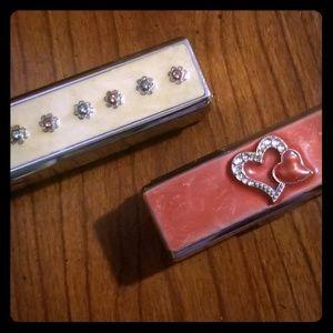 2 Lip Stick Cases